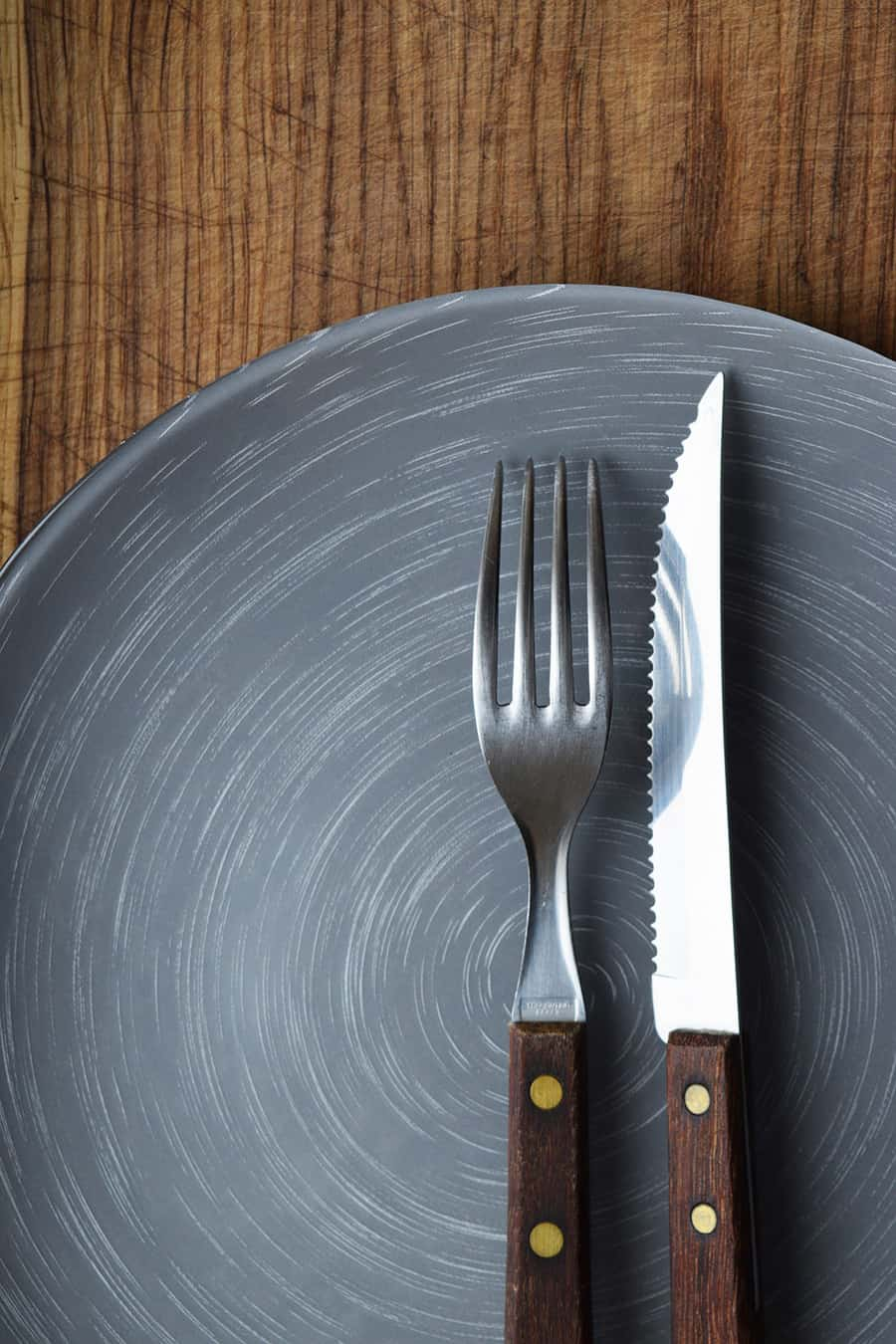 Intermittent Fasting knife & fork