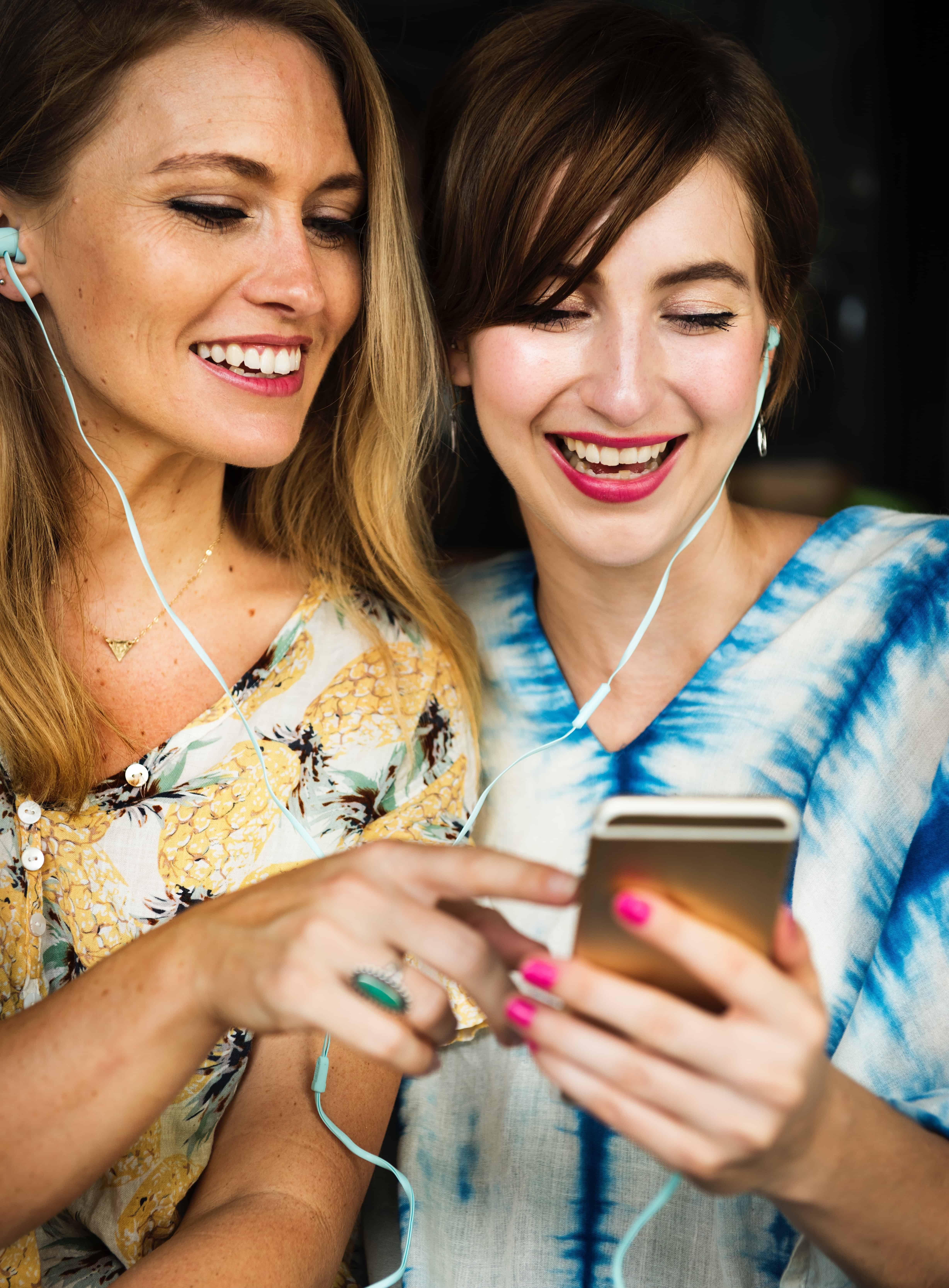 vrouwen headphones