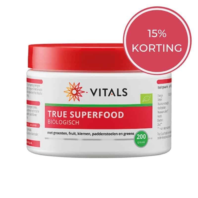 Vitals superfood 15% KORTING