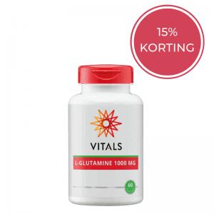 Vitals L-Glutamine voedingssupplement